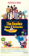 Movie Posters:Animation, Yellow Submarine (United Artists, 1968). Very Fine+ on Lin...