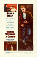 Movie Posters:Drama, Rebel Without a Cause (Warner Brothers, 1955). Fine/Very F...