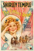 Movie Posters:Musical, The Littlest Rebel (20th Century Fox, 1935). Fine+ on Line...