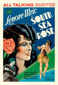 Movie Posters:Comedy, South Sea Rose (Fox, 1929). Fine/Very Fine on Linen.