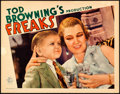 "Movie Posters:Horror, Freaks (MGM, 1932). Very Fine. Lobby Card (11"" X 14"").. ..."