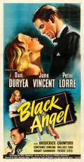 Movie Posters:Film Noir, Black Angel (Universal, 1946). Very Fine- on Linen.