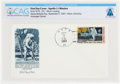 Explorers:Space Exploration, Philatelia: Apollo 11 Mission First Day Cover Directly From The Armstrong Family Collection™, CAG Certified. ...