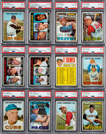 Baseball Cards:Sets, 1967 Topps Baseball High Grade Partial Set (506/609)....