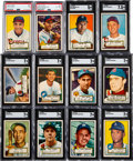 1952 Topps Baseball Near Low Number Set (304/310)