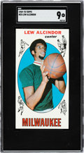 Basketball Cards:Singles (Pre-1970), 1969 Topps Lew Alcindor #25 SGC Mint 9 - None Higher!...