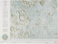 """Explorers:Space Exploration, Apollo 11 Landing Site: NASA LAC 60 """"Julius Caesar"""" 1962 Color Moon Map Directly From The Armstrong Family Collection™, CAG Ce..."""