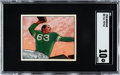 Football Cards:Singles (Pre-1950), 1950 Bowman Y.A. Tittle #5 SGC Gem Mint 10 - The Ultimate SGCGraded Example!...