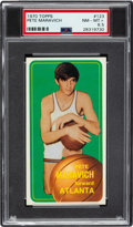 Basketball Cards:Singles (1970-1979), 1970 Topps Pete Maravich #123 PSA NM-MT+ 8.5....