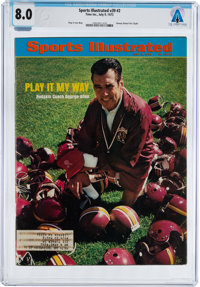 Magazines: Sports Illustrated Dated July 9, 1973, Directly From The Armstrong Family Collection™, CAG Certified an