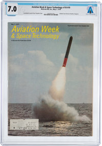 MAGAZINES: Aviation Week & Space Technology Dated May 7, 1979, Directly From The Armstrong F