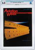 Explorers:Space Exploration, Magazines: Aviation Week & Space Technology Dated October 8, 1984, Directly From The Armstrong Family Collection™,...