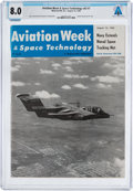 Explorers:Space Exploration, Magazines: Aviation Week & Space Technology Dated August 16, 1965, Directly From The Armstrong Family Collection™,...