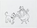 Animation Art:Production Drawing, The Lion King Illustrations Group of 8 (Walt Disney, c. 1990s).. ... (Total: 8 Items)