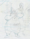 Animation Art:Production Drawing, Beauty and the Beast Book Illustrations Original Art Group of 2 (Disney, c. 1990s).. ... (Total: 2 Items)