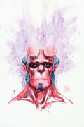 Original Comic Art:Paintings, David Mack Hellboy Painting Original Art (undated)....