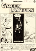 "Original Comic Art:Panel Pages, Gil Kane and Murphy Anderson Green Lantern #10 Complete10-Page Story ""The Origin of Green L..."