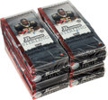 Football Cards:Boxes & Cases, 2006 Bowman Sterling Football 4-Box Hobby Case....