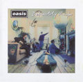 Music Memorabilia:Autographs and Signed Items, Oasis Definitely Maybe Mi...
