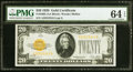 Small Size:Gold Certificates, Fr. 2402 $20 1928 Gold Certificate. PMG Choice Uncirculated 64EPQ.. ...