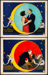 """The Glimpses of the Moon (Paramount, 1923). Very Fine-. Lobby Cards (2) (11"""" X 14""""). Romance. ... (Total: 2 It..."""