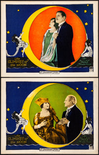 """The Glimpses of the Moon (Paramount, 1923). Very Fine. Lobby Cards (2) (11"""" X 14""""). Romance. ... (Total: 2 Ite..."""