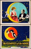 "Movie Posters:Romance, The Glimpses of the Moon (Paramount, 1923). Very Fine-. Title LobbyCard & Lobby Card (11"" X 14""). Romance.. ... (Total: 2 Items)"