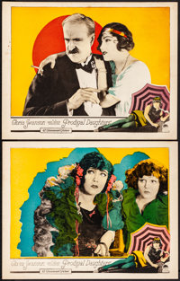"""Prodigal Daughters (Paramount, 1923). Very Fine-. Lobby Cards (2) (11"""" X 14""""). Drama. ... (Total: 2 Items)"""