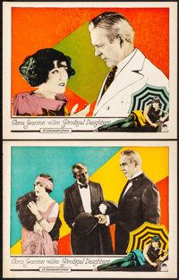 """Prodigal Daughters (Paramount, 1923). Very Fine. Lobby Cards (2) (11"""" X 14""""). Drama. ... (Total: 2 Items)"""