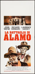 "Movie Posters:Western, The Alamo (United Artists, R-1971). Folded, Very Fine. ItalianLocandina (13.5"" X 27.5""). A. Biffignandi Artwork. Western.. ..."