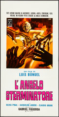 """Movie Posters:Foreign, The Exterminating Angel (P.A.C., 1968). Folded, Very Fine-. Italian Locandinas (2) (13.74"""" X 27.5"""") 2 Styles, Sandro Symione... (Total: 2 Items)"""