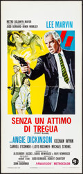 "Movie Posters:Crime, Point Blank (MGM, 1968). Folded, Very Fine. Italian Locandina (13"" X 27.5""). Crime.. ..."
