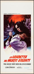 """Movie Posters:Horror, Vengeance of the Zombies & Other Lot (Arden, 1976). Folded,Very Fine-. First Release Italian Locandinas (2) (12.75"""" X 27.5""""...(Total: 2 Items)"""