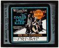 """Movie Posters:Comedy, A High Diver's Last Kiss & Other Lot (Fox, 1918). Overall: Very Fine-. Glass Slides (3) (3.25"""" X 4"""") Alternate Title: The ... (Total: 3 Items)"""
