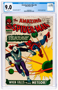 The Amazing Spider-Man #36 (Marvel, 1966) CGC VF/NM 9.0 White pages