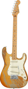 Musical Instruments:Electric Guitars, Circa 1983 Fender Stratocaster Bowling Ball Solid Body Electric Guitar, Serial # E 351381....