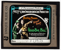 """Good-Bye, Bill and Other Lot (Paramount, 1918). Very Fine-. Glass Slides (3) (3.25"""" X 4""""). Comedy. ... (Total:..."""