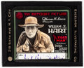 "Movie Posters:Western, William S. Hart in The Tiger Man (Artcraft, 1918). Very Fine. GlassSlide (3.25"" X 4""). Western.. ..."