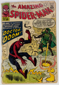 The Amazing Spider-Man #5 (Marvel, 1963) Condition: GD