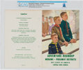 Explorers:Space Exploration, Boy Scouts: 1963 Adventure Roundup Program Directly From The Armstrong Family Collection™, CAG Certified. ...