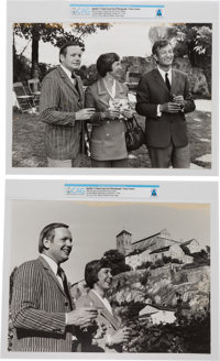 Giant Leap World Tour: Two Large Photographs, Paris, October 8-9, 1969, Directly From The Armstrong Family Collection™...