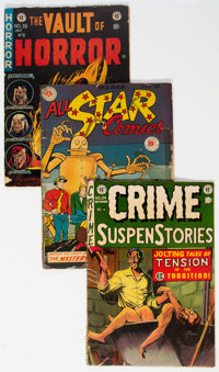 Golden Age Miscellaneous Comics Group of 10 (Various Publishers, 1950s) Condition: Average FR/GD.... (Total: 10 Comic Bo...