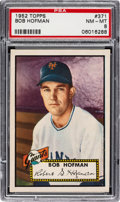 Baseball Cards:Singles (1950-1959), 1952 Topps Bob Hofman #371 PSA NM-MT 8....