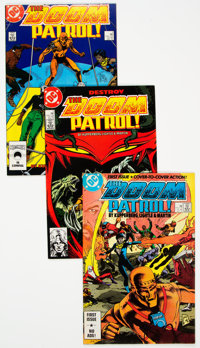 Doom Patrol Group of 53 (DC, 1987-92) Condition: Average FN/VF.... (Total: 53 Comic Books)