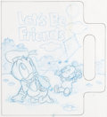Animation Art:Production Drawing, Let's Be Friends Baby Mickey Mouse and Friends Book ArtGroup of 11 (Walt Disney, c. 1990s).. ... (Total: 11 Items)
