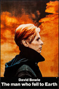 "Movie Posters:Science Fiction, The Man Who Fell to Earth (Cinema 5, 1976). Rolled, Very Fine. OneSheet (27"" X 41""). Science Fiction.. ..."