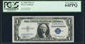 Small Size:Silver Certificates, Low Serial Number 16 Fr. 1608 $1 1935A Silver Certificate. PCGS Very Choice New 64PPQ.. ...
