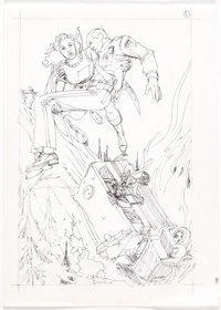 Dick Giordano The Power of Shazam #28 Complete Story Preliminary Original Art Group of 23 (DC Comics, 1997).... (Total:...