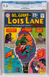 Superman's Girlfriend Lois Lane #77 Pacific Coast Pedigree (DC, 1967) CGC NM/MT 9.8 Off-white to white pages