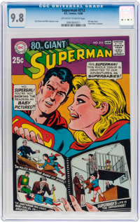 Superman #212 (DC, 1968) CGC NM/MT 9.8 Off-white to white pages